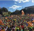 Diada Cataluña 2017: manifestación independentista en Barcelona