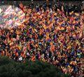 Manifestación contra Pedro Sánchez por la unidad de España