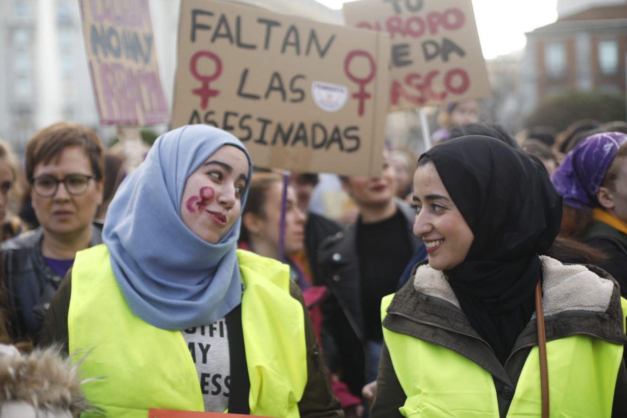 Musulmanas feministas reivindican el 8-M