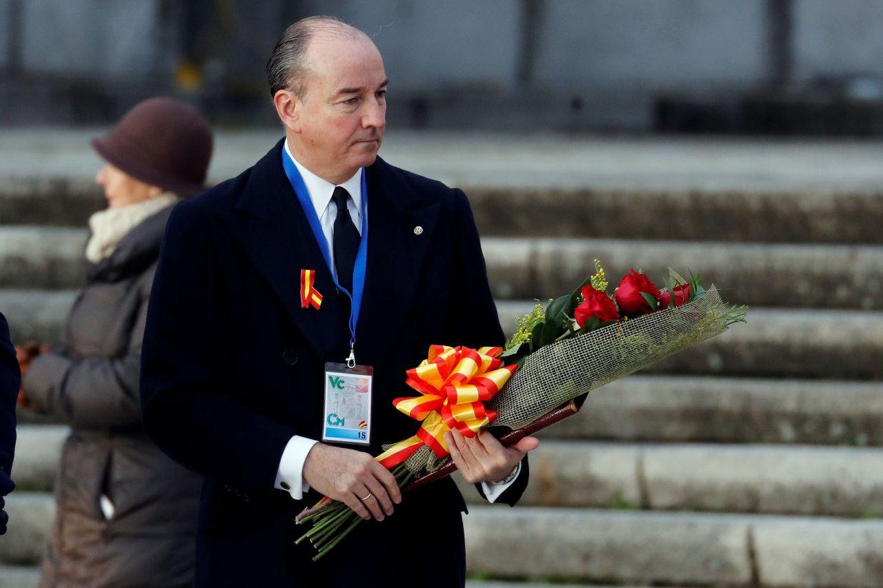 El abogado de la familia Franco, Felipe Utrera Molina