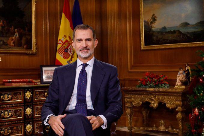 24 de diciembre: el monarca, Felipe VI, leía su tradicional mensaje de Nochebuena aunque en esta ocasión hizo unas alusiones especiales a Cataluña, las cuales no gustaron a muchos partidos nacionalistas