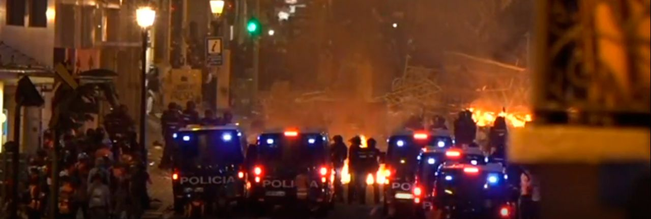 Días sucesivos al 14 de octubre: las manifestaciones, protestas y altercados no dejaron de llegar en los días posteriores a la sentencia del caso del procés. Barcelona fue la ciudad icónica donde las protestas tuvieron más visibilidad, con grandes incidentes, barricadas, fuego...
