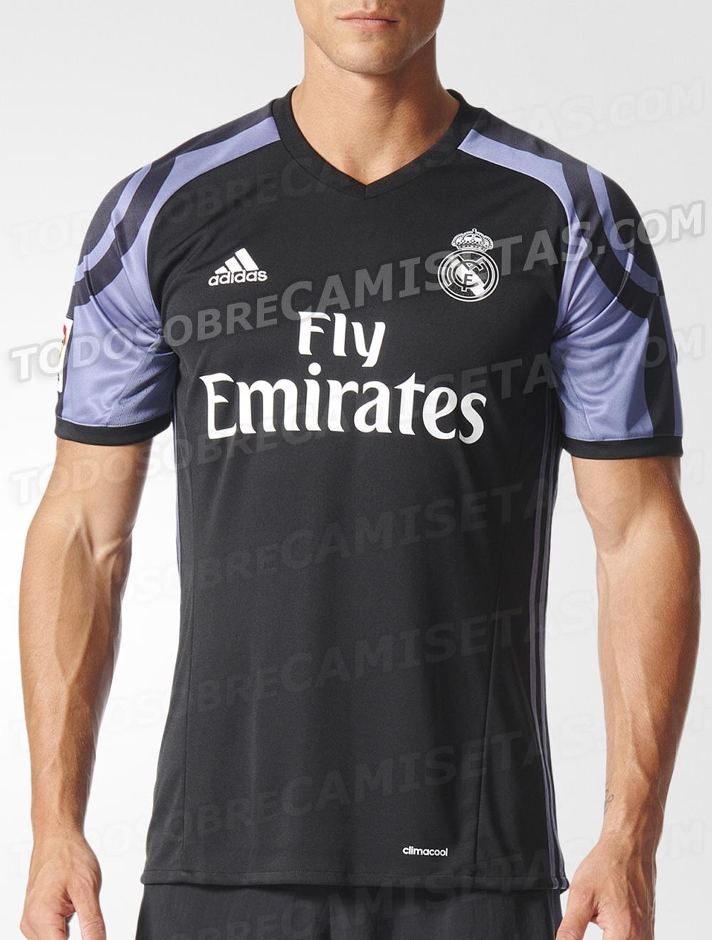 Así son los otros diseños de la primera y segunda equipación   Revolucionaria camiseta del Real Madrid ... e0e0fcbb18c60