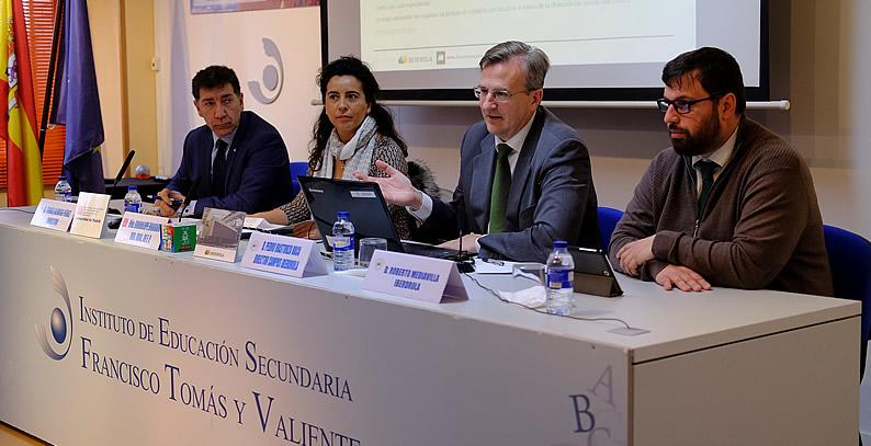 Iberdrola impulsa la formación profesional en la Comunidad de Madrid