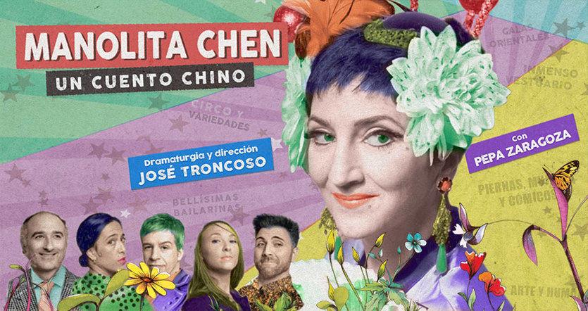 Crítica de 'Manolita Chen. Un cuento chino': humor, nostalgia, canciones, variedades y color en la posguerra española