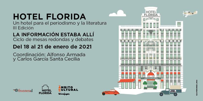El Corte Inglés organiza la III edición de 'Hotel Florida', un ciclo de análisis y homenaje al periodismo
