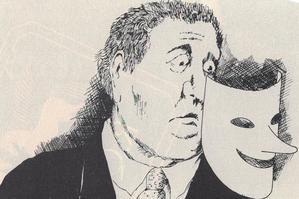 Campaña electoral con máscara