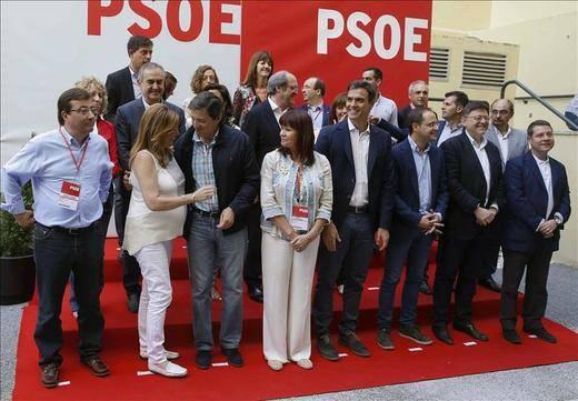 El Comité Federal del PSOE analiza la política de pactos, con Andalucía pidiendo prudencia
