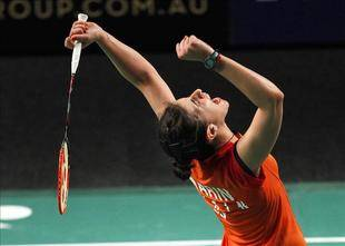 Carolina Marin imparable