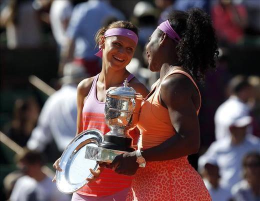 Serena Williams conquista su tercer Roland Garros