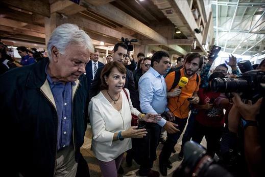 El Supremo venezolano reitera que Felipe González no podrá defender opositores