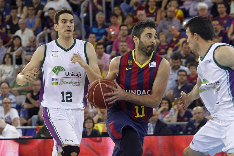 77-74. El Barcelona doblega a Unicaja y jugará su novena final consecutiva