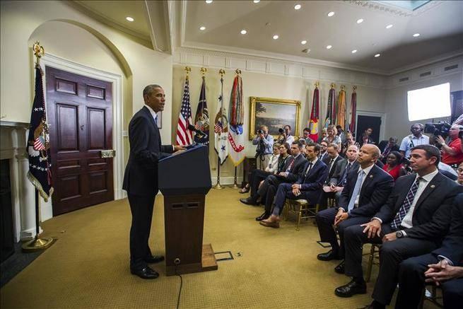 Obama traslada a Hollande su compromiso de acabar con el espionaje