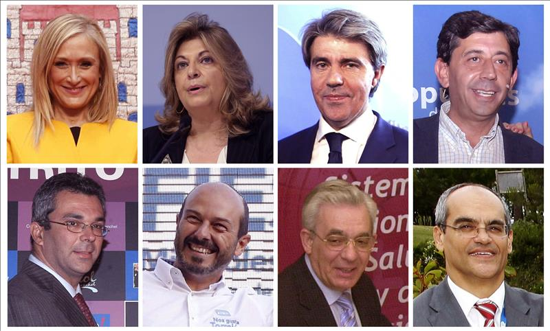 Los siete consejeros de Cifuentes toman posesión en presencia de Rajoy