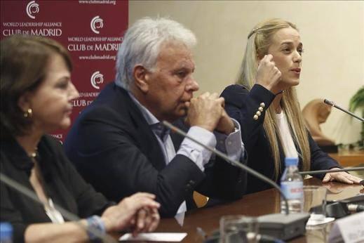 Felipe González volverá a Venezuela antes de que acabe el año
