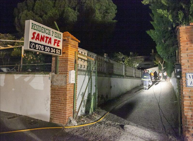 Tragedia en una residencia de Zaragoza