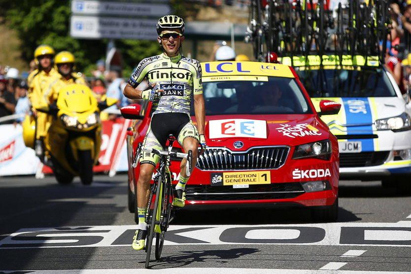 Tregua en el Tourmalet y victoria del polaco Majka