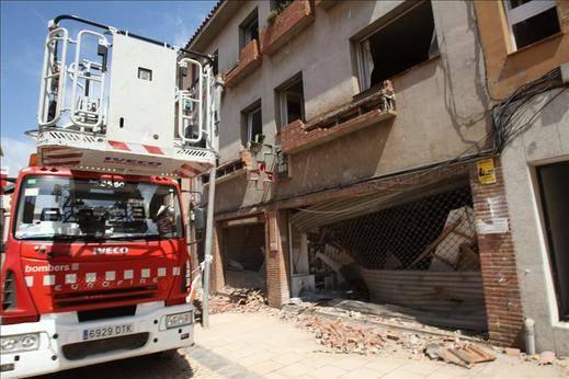 Ascienden a 13 los heridos por la explosión en Begues (Barcelona)