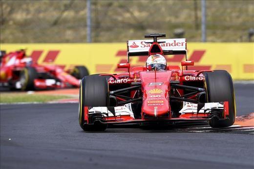 Vettel ganó en Hungría, Alonso fue quinto y Hamilton sigue líder