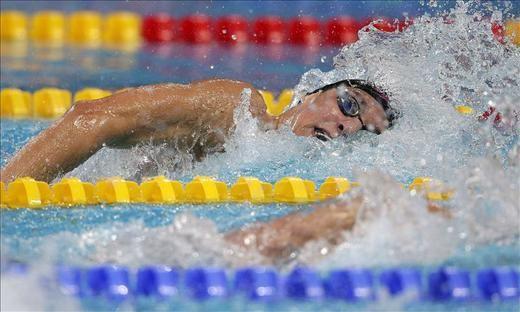 Rafa Muñoz, a la semifinal de 50 mariposa con el tercer mejor tiempo