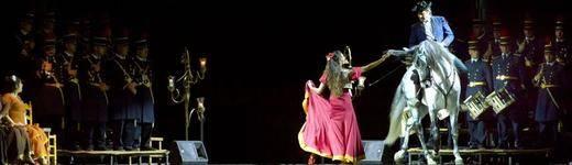 'Carmen', la ópera flamenca de Salvador Távora, incendia de pasión la Gran Vía madrileña