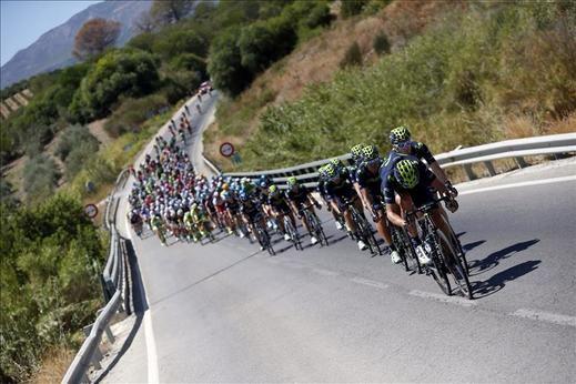 El colombiano Esteban Chaves líder de La Vuelta a España