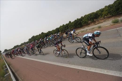 Vuelta a España: Sbaragli se impone en el sprint de Castellón