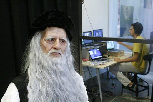 La ciencia 'resucita' a Leonardo Da Vinci...en forma de androide