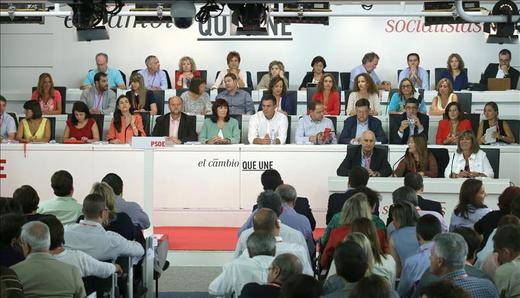 El PSOE aprobará el 17 de octubre las listas al Congreso y Senado