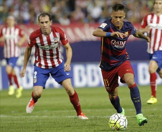 1-2. Messi derriba la resistencia del Atlético