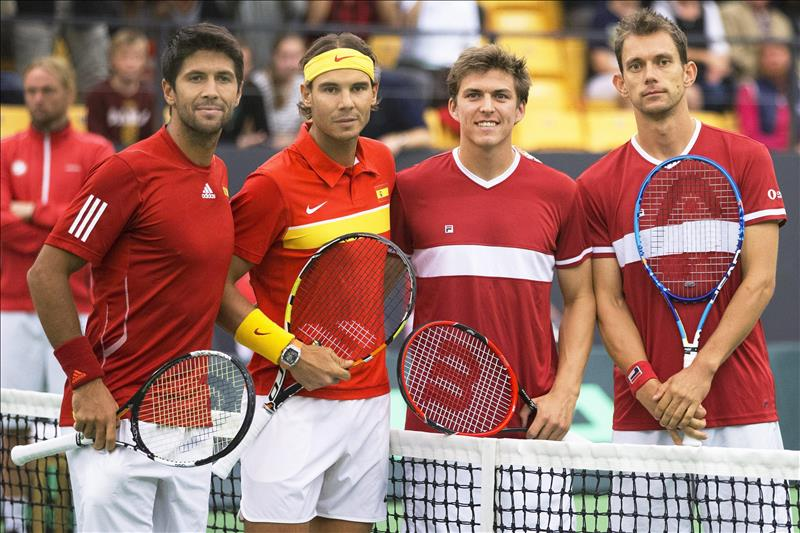 0-3. Nadal y Verdasco sellan un triunfo contra Dinamarca y la permanencia en el Grupo I