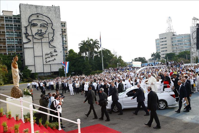 El Papa congrega a más de trescientas mil personas en La Habana