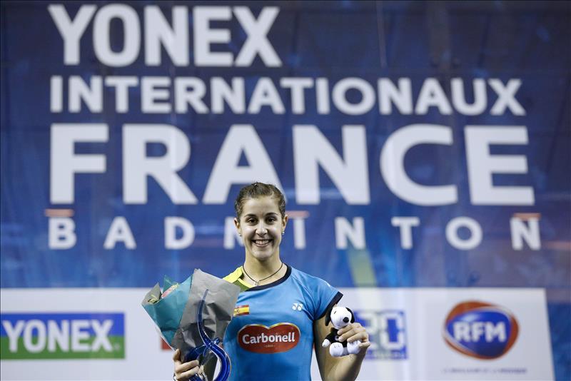 Carolina Marín vence en París y se hace con el quinto título esta temporada
