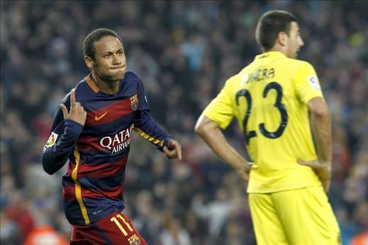 Neymar firma otra obra de arte y hunde al submarino (3-0)