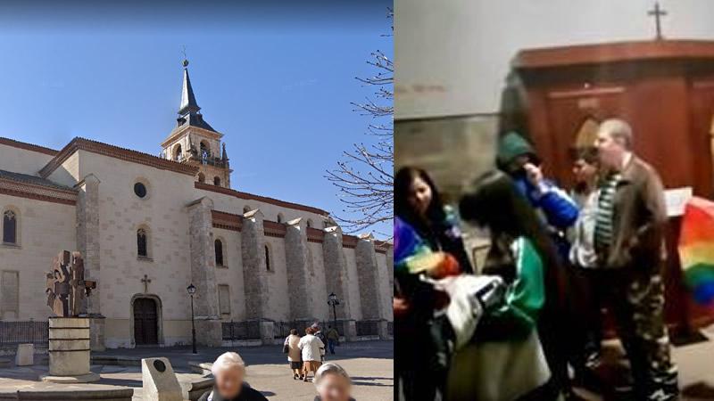 Admiten una querella contra activistas LGTBI que irrumpieron durante una misa en la catedral de Alcalá de Henares