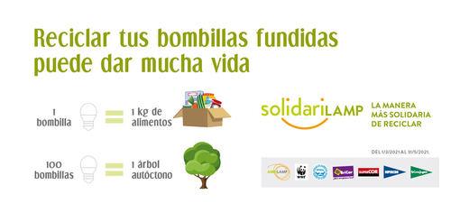 El Corte Inglés y Ambilamp ponen en marcha SolidariLAMP, un proyecto medioambiental y social