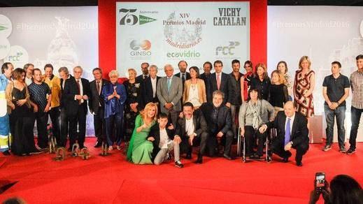 'Madridiario' ovacionó a los mejores en los 'XIV Premios Madrid'