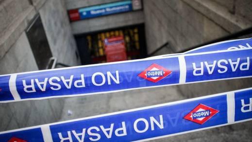 Así se vive un viaje sin la Línea 1 de Metro de Madrid: cámara en primera persona