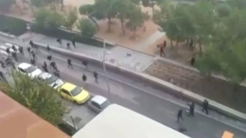 Reyerta entre ultras del Deportivo de la Coruña y del Atlético de Madrid en la que murió Jimmy