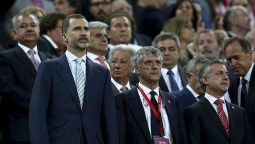 La Comisión contra la Violencia analiza hoy la pitada al himno en la final de la Copa del Rey