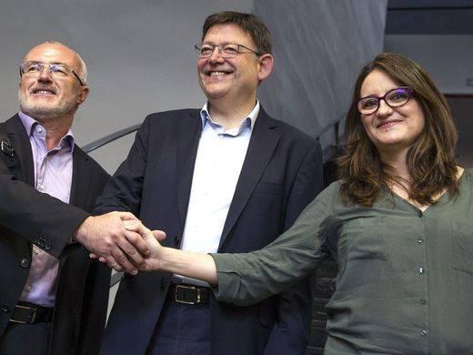 Comunidad Valenciana: PSOE, Compromís y Podemos crean una comisión como paso previo al pacto