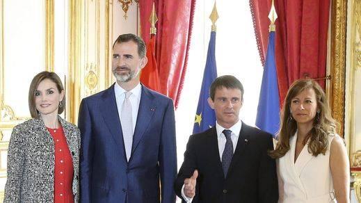 El rey Felipe VI en la Asamblea Nacional de Francia: