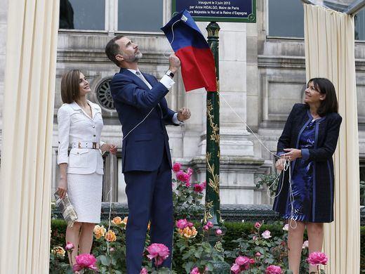 En París no pitan al Rey Felipe VI