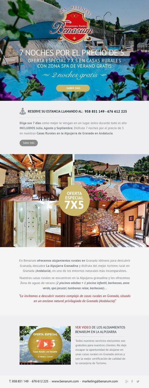Andalucía, una de las Comunidades Autónomas donde más crece el turismo rural en 2015