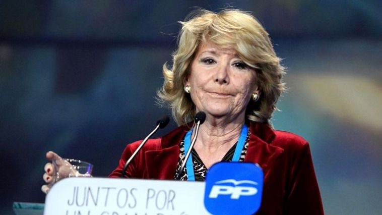 La caída de Aguirre o su salida del PP, cada día más cerca por el acoso de Ciudadanos
