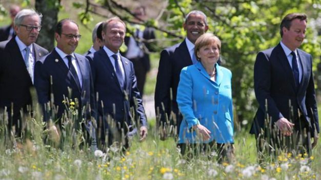 Merkel y Obama se presentan como amigos y aliados a pesar de discrepancias