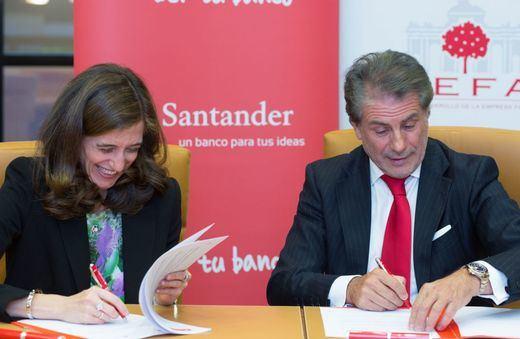 Banco Santander y ADEFAM amplían su acuerdo de colaboración para apoyar el desarrollo de la empresa familiar en la Comunidad de Madrid
