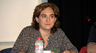 Ada Colau apoyar� la manifestaci�n de la Diada y se compromete con el