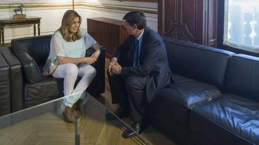 Susana Díaz logra el apoyo de Ciudadanos para gobernar en Andalucía