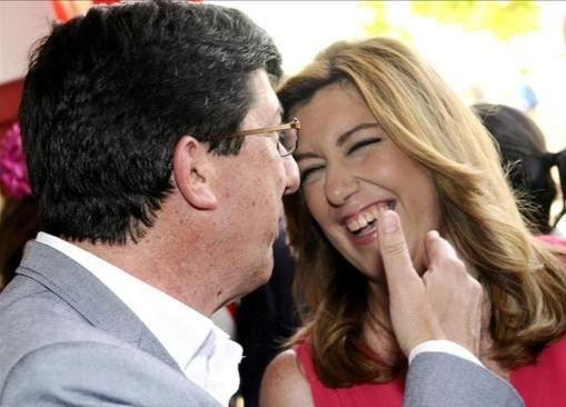 PSOE y C's se dan el 'sí, quiero' en Andalucía: Rivera 'se olvida' de Chaves y Griñán y desbloquea la investidura de Díaz